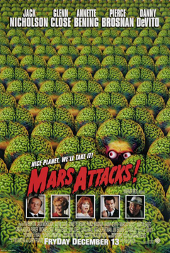 Affiche Mars Attacks!