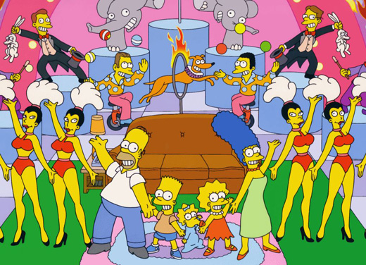 Les Simpson : Couch gag