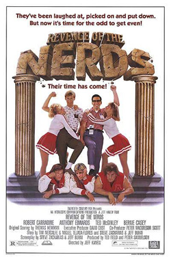 Affiche Revenge Of The Nerds