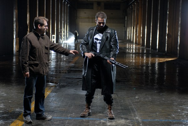 photo du tournage du teaser de The Punisher 2